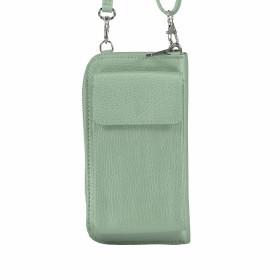 Handytasche Dollaro mit Schulterriemen Grün