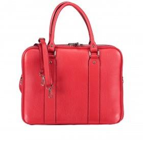 Aktentasche für Damen Rot