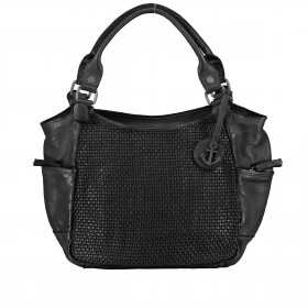 Handtasche Soft-Weaving Milva B3.0055 Dark Ash