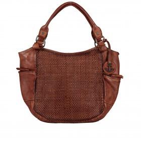 Handtasche Soft-Weaving Milva B3.0055 Charming Cognac