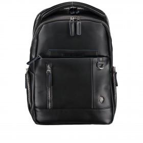 Rucksack Cambridge mit Laptopfach 13 Zoll Black