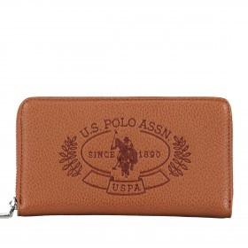 U.S. Polo Assn. Hailey L Zip Around Wallet BIUHF4994WVP.521 Tan