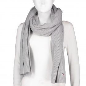 Schal Essential Knit Scarf Mid Grey Heather