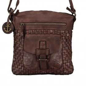 Umhängetasche Soft-Weaving Aurora B3.4783 Chocolate Brown