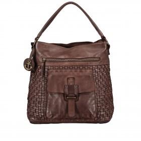 Beuteltasche Soft-Weaving Iris B3.5032 Chocolate Brown