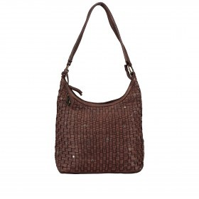 Beuteltasche Soft-Weaving Tuula B3.6104 Chocolate Brown