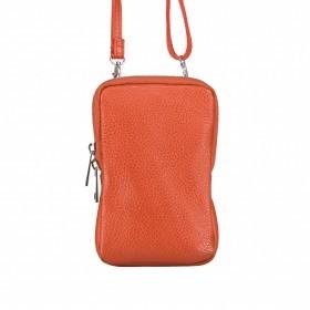Handytasche Dollaro mit Schulterriemen Dark Orange