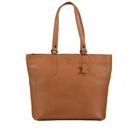 Handtasche Nappa Cognac