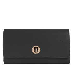 Geldbörse Honey Large Wallet with Flap Black