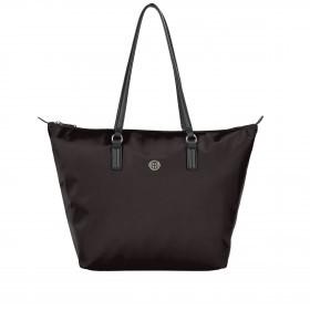 Shopper Poppy Tote Black