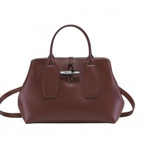 Handtasche Roseau Handtasche M Mahagoni