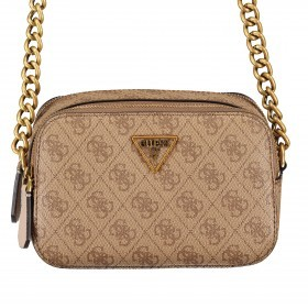 Guess Schultertasche Noelle HWBB78-79140. Latte