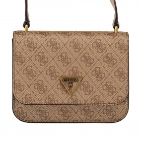 Guess Schultertasche Noelle HWBB78-79780. Latte
