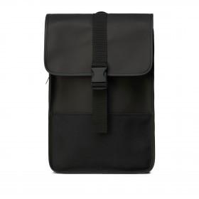 Rucksack Buckle Backpack Mini Black