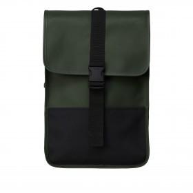 Rucksack Buckle Backpack Mini Green