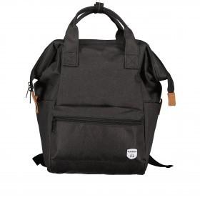 Fahrradtasche Rucksack mit Gepäckträgerbefestigung Black