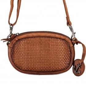 Umhängetasche / Gürteltasche Soft-Weaving Wendy SW.10499 Charming Cognac