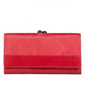 Geldbörse Grandma's Luxury Club Stella mit Bügelverschluss Crimson Red