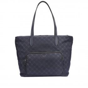 Shopper Tessuto Lara LHZ Medieval Blu