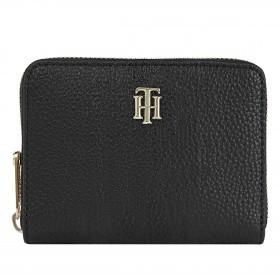 Geldbörse Essence Medium Zip Wallet Black