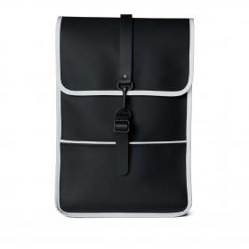 Rucksack Backpack Mini Black Reflective