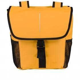 Fahrradtasche für Gepäckträgerbefestigung Gelb