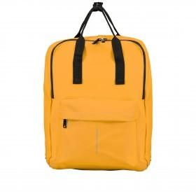 Fahrradtasche Rucksack mit Gepäckträgerbefestigung Gelb