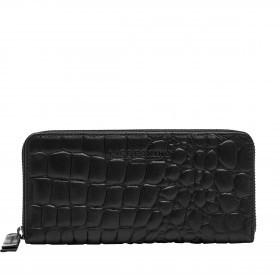 Geldbörse Basic Gigi Wallet Kroko Black