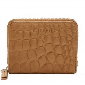 Geldbörse Basic Conny Kroko mit RFID-Schutz Golden Amber