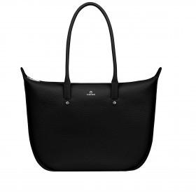 Shopper Ivy L 137-002 Black Silver