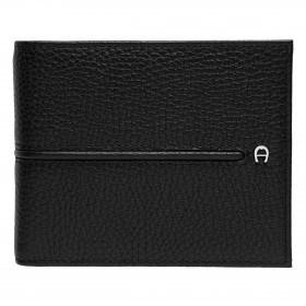 Geldbörse Basics 152-007 mit RFID-Schutz Black