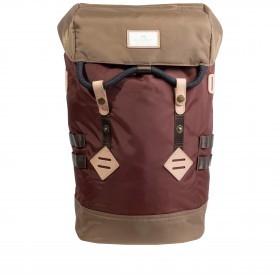 Rucksack Jungle Series Colorado mit Laptopfach 15 Zoll Volumen 19 Liter Maroon Khaki