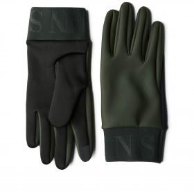 Handschuhe Gloves mit Bedienfunktion für Touchscreens Größe M Green