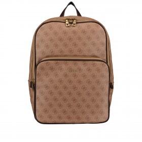 Rucksack Vezzola mit Tablet- und Laptopfach Brown