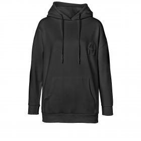 Sweatshirt Hoodie 252000 mit Kapuze und Logostickerei