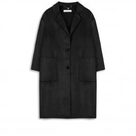 Mantel Vinky mit Wolle