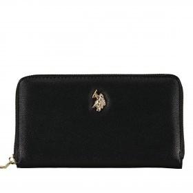 Geldbörse Jones Zip Around Wallet Black