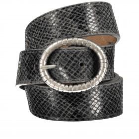 Gürtel Snake One Size Grau