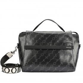 Handtasche Grafico June Black