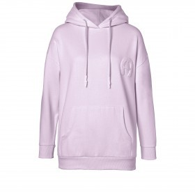Sweatshirt Hoodie 252000 mit Kapuze und Logostickerei Größe M Lavender