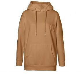 Sweatshirt Hoodie 252000 mit Kapuze und Logostickerei Größe M Cinnamon