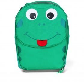 Koffer Kinderkoffer mit zwei Rollen Frosch
