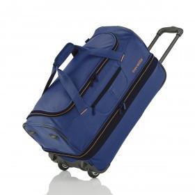 Reisetasche Basics Blau Orange