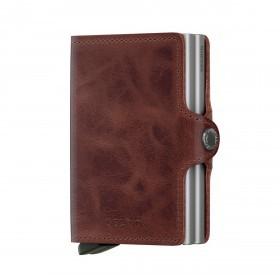 Geldbörse Twinwallet Vintage Brown