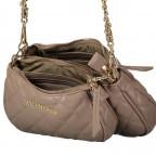 Umhängetasche Ocarina, Farbe: schwarz, taupe/khaki, beige, Marke: Valentino Bags, Abmessungen in cm: 24.5x14.5x5.0, Bild 9 von 13