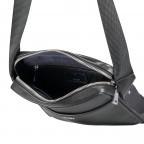 Umhängetasche Novara Remus XSVZ, Farbe: schwarz, braun, Marke: Joop!, Abmessungen in cm: 21.0x25.5x4.5, Bild 6 von 6