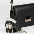 Umhängetasche Trosa Black Gold, Farbe: schwarz, Marke: Seidenfelt, EAN: 4251634248177, Abmessungen in cm: 19.0x15.0x8.5, Bild 8 von 8