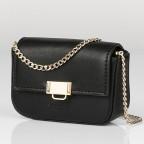 Umhängetasche Mini Lund, Farbe: schwarz, taupe/khaki, Marke: Seidenfelt, Abmessungen in cm: 12.0x9.0x3.0, Bild 2 von 7