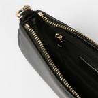 Umhängetasche Hamina, Farbe: schwarz, cognac, beige, Marke: Seidenfelt, Abmessungen in cm: 19.5x10.0x3.5, Bild 8 von 11
