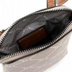 Handytasche Anastasia, Farbe: schwarz, braun, taupe/khaki, Marke: Tamaris, Abmessungen in cm: 13.5x20.0x3.5, Bild 4 von 5